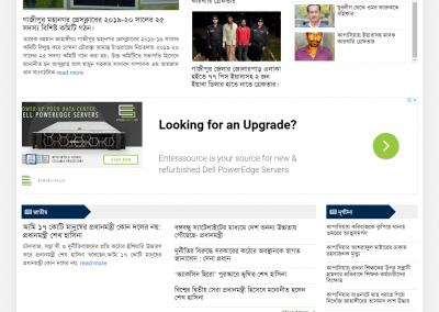 online newspaper website
